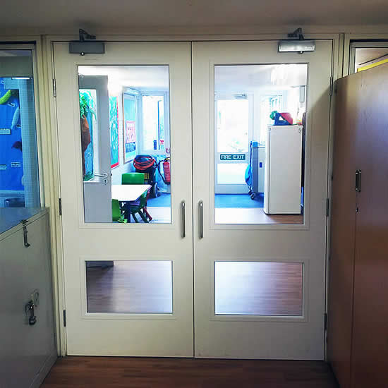 Manual door installation Berkshire